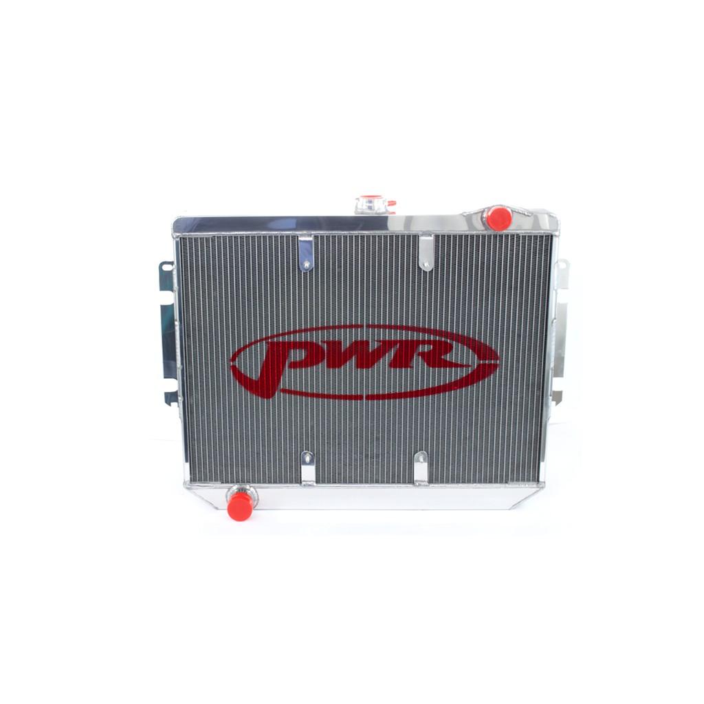 PWR Performance Radiator :  Brazen Alloy : Suit CL/CM Hemi 6 (with Thermal fan mount points)