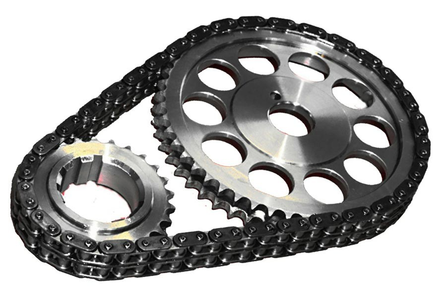 CURRENTLY UNAVAILABLE - JP Performance Dual Row Timing Chain & Gear Set with Torrington Bearing : suit Chrysler Big Block 383-440 Three Bolt Cam
