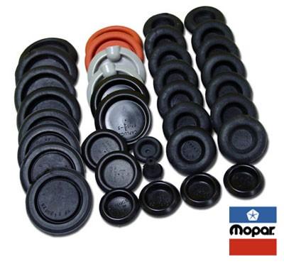 Mopar Body Plug Kit : 1971-74 E-body
