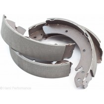New Rear Brake Shoe Set, Bendix : suit 10-inch drums (VK/CK/CL/CM)