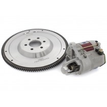 Billet Steel Flywheel and 2.5hp Hi-Torque Starter Motor : suit Hemi 6 (PACKAGE DEAL)