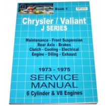 Workshop Service Manual : Valiant 1973-1975 VJ (book 1)