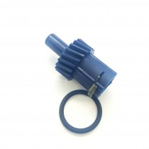 Speedo Pinion Drive Gear (19 tooth Blue) : suit BorgWarner Manual 3 Speed & 4 Speed (Factory 3.23:1 Ratio Differential)