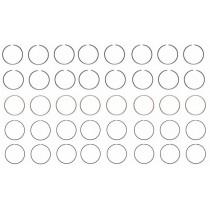 "Black Cast Piston Ring Set : suit Small Block 318ci (.040"" / 3.950"")"