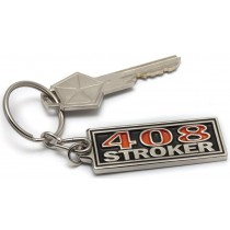 """408 Stroker"" Badge Key Tag"