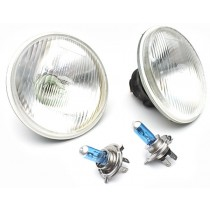 "Halogen Headlamp Conversion Kit : 5-¾"" H4 (146mm High/Low 100/90w)"