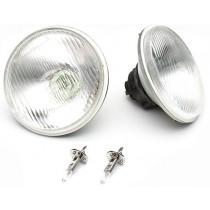 "Aftermarket H1 5-3/4"" (146mm) High Beam Inserts Halogen Headlamp Conversion Kit (55w)"