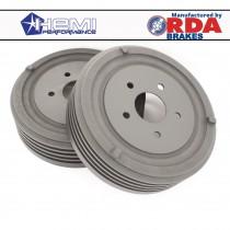 Finned Rear Brake Drum : suit SV1/AP5/AP6/VC/VE/VF/VG (Pacer / 9 inch)