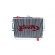 PWR Performance Radiator :  Brazen Alloy : Suit VK/CL/CM Small Block V8 (with Thermal fan mount points)