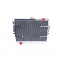PWR Performance Radiator :  Brazen Alloy : Suit VK/CL Hemi 6 (with Thermal fan mount points)