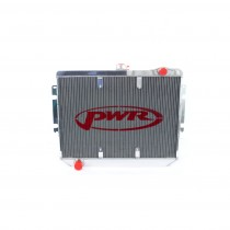PWR Performance Radiator :  Brazen Alloy : Suit CL/CM Hemi 6 (with Thermal fan mount points)