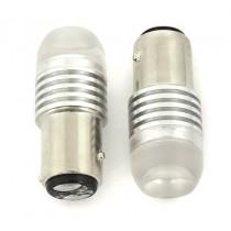 """Low Voltage"" LED White Tail/Stop Light Globe 3W 12/24V"