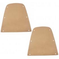 Bucket Seat Backing Board : suit All VH/VJ/VK/CM Sedan/Ute/Wagon/Charger : NO Ashtray Hole