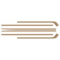 Body Stripe Kit : Brown:  VK Valiant Charger (A60)