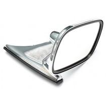 Aftermarket Door Side Mirror (rectangle, chrome)