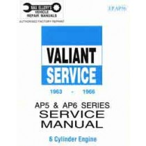 Workshop Service Manual : Valiant 1963-1966 AP5/AP6