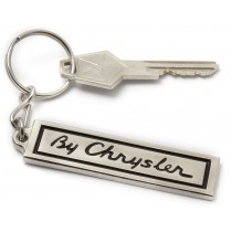 """By Chrysler"" Plate Badge Key Tag"