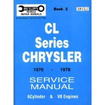 Workshop Service Manual : Valiant 1976-1978 CL (book 2)