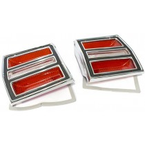 Lens & Bezel Set, Tail Light : suit Dodge Dart (also fit VF/VG Hardtop)