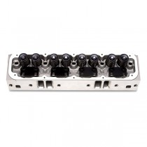 Small Block Magnum Edelbrock Performer RPM Alloy Cylinder Head Complete w/springs for roller cam (61775)