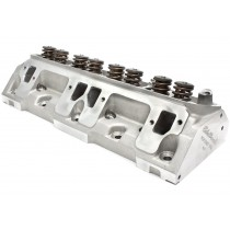 Small Block Edelbrock Performer RPM Alloy Cylinder Head Complete w/springs for hyd flat tappet cam : Suit 318ci/360ci LA Block (Edelbrock Part# 60779)