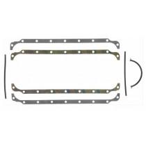 Fel-Pro Sump Rail Gasket Set :suit 318/340  Marine alloy sump ONLY