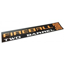 """Fireball Two-Barrel 318"" Air Cleaner Decal : VH"