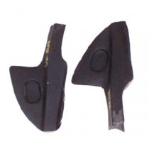 Door Seal Front End Cap (Rubber) : suit VF/VG Hardtop (left hand)