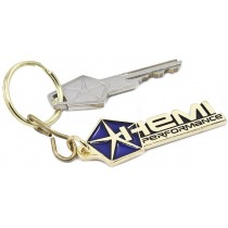 """Hemi Performance"" Gold Key Tag"