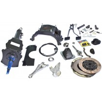 Complete BorgWarner 4 Speed Conversion Kit [Hemi 6 Auto to Manual]