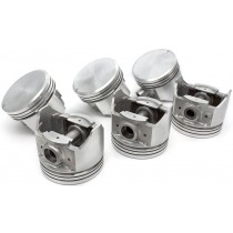 "Endurotec Piston Set (.040"" oversize) : Suit Hemi 6 265ci"