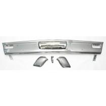 Restored & Rechromed Bumper Bar Set (3-piece) : suit VF/VG Hardtop (rear)