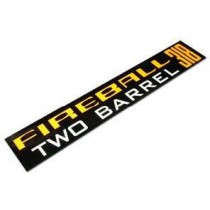 """Fireball 318"" Air Cleaner Decal : suit VF/VG"