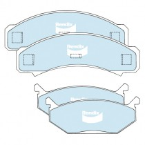 Front Disc Brake Pad Set, Bendix General CT : suit VJ/VK calipers (& early CL)