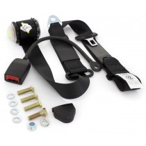 Front Retractable Lap-Sash Seat Belt with Drop-Link (left-hand) : suit VF/VG Hardtop w/ bucket seats (400mm stalk)