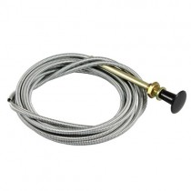 "Universal Carburettor ""Choke"" Cable: Manual Control  - no bracket"