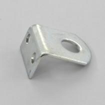 """Metal """"L"""" bracket : suit choke & bonnet cables"""