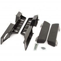 Reproduction Black Front/Rear Interior Armrest Base & Pad Set : suit VE/VF/VG/VH/VJ/VK/CL