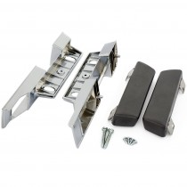 Reproduction Chrome Front/Rear Interior Armrest Base & Pad Set : suit VE/VF/VG/VH/VJ/VK/CL