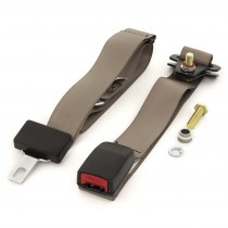 Center Lap-Only Seat Belt : suit bench seats (webbed adjustable) : Cappuccino