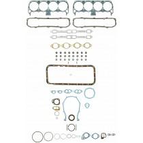 Fel-Pro Complete Engine Gasket Set (excl. inlet/valley gasket) : suit Big Block 361/383/400/413/440 (1963+ w/ 6 bolt valve cover)
