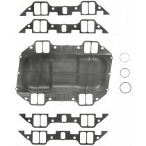 Fel-Pro Intake Manifold & Valley Gasket Set : suit Big Block (383ci/400ci) : Steel