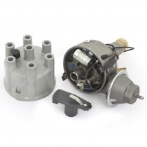 Slant 6 Reman Points Distributor with grey cap and rotor USA Cast Alloy IMG_6472.jpg