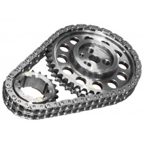 Rollmaster Pro Red Series -  Dual Row Timing Chain & Gear Set: suit Hemi 6 with Three Bolt Cam