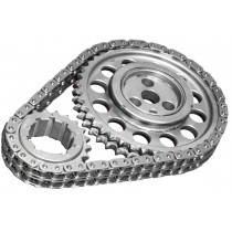 Rollmaster Pro GOLD Series -  Dual Row Timing Chain & Gear Set: suit Hemi 6 with Three Bolt Cam