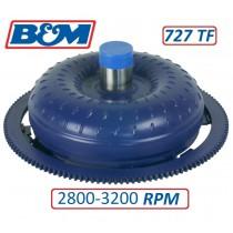 B & M Holeshot Hi Stall Torque Converter : 2800 to 3200 rpm : suit A727 TorqueFlite