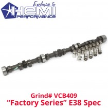 Camshaft, Gear & Lifter kit : Viper Cams Hydraulic E38 : VCB409 : suit Hemi 6