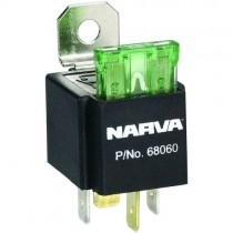 Narva Universal Four-Pin Fused Relay (#68060)