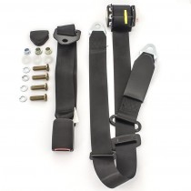 Front Retractable Lap-Sash Seat Belt with Drop-Link (left-hand) : suit VF/VG Hardtop w/ bench seats (webbed adjustable)