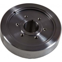 Romac Anodised Pro Series Harmonic Balancer : Steel/Alloy : suit Slant 6 (timing case with bolt-on timing tab)